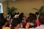 银行大堂经理文明规范服务培训班融入手语教学