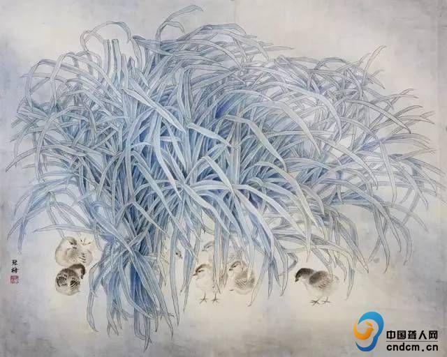 草上飞鹰_春草 - 绘画 - 中国聋人网【官网】