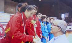 史册---听障奥运史上乒乓球金牌最多的中国运动员