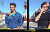 手语可不是全世界通用的, 对比看一下两种不同的手语