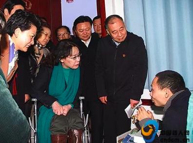 张海迪到河南省调研残疾人工作并走访慰问困难残疾人